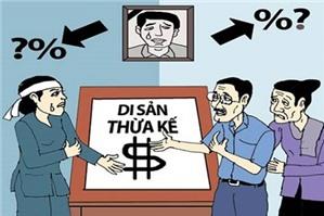 Luật sư tư vấn phân chia tài sản thừa kế để lại cho con vợ hai