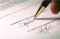Hiệu lực của hợp đồng chuyển nhượng đất?