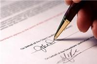 Luật sư tư vấn trách nhiệm với các điều khoản trên hợp đồng giả mạo chữ ký