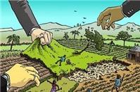Thôn đòi thu lại đất của người dân có đúng quy định pháp luật không?